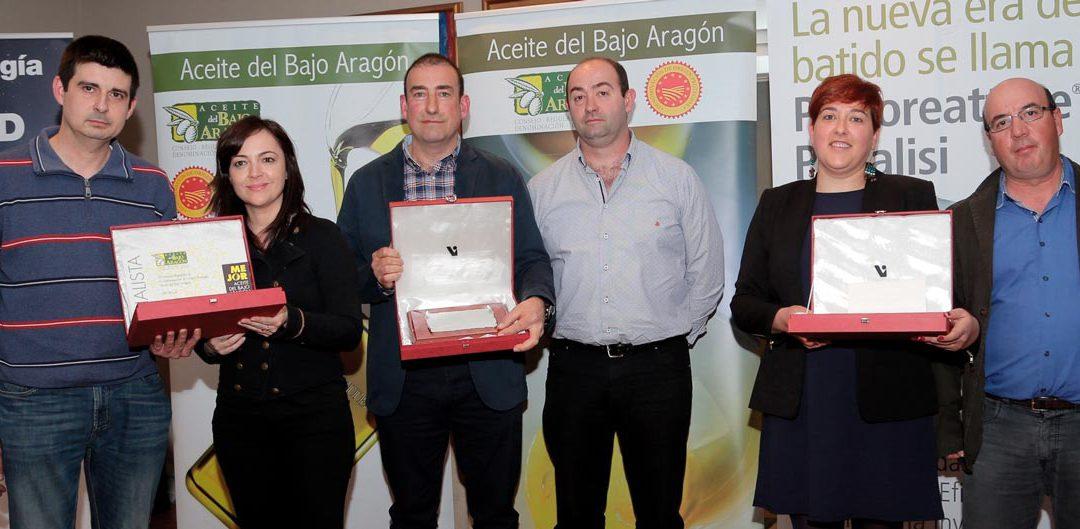 """La almazara Cooperativa del Campo San Isidro, de Mazaleón, recibe el premio al """"Mejor aceite del Bajo Aragón 2018"""""""