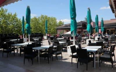 Jena Montecanal, una terraza para disfrutar todo el año