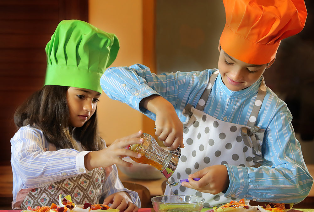 Comer bien, una asignatura que se aprende en casa
