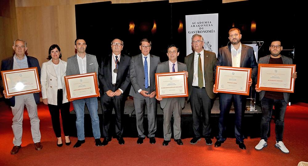 La Academia Aragonesa de Gastronomía entregará  sus tradicionales «Premios Anuales de Gastronomía 2020» el próximo miércoles 17 de marzo.