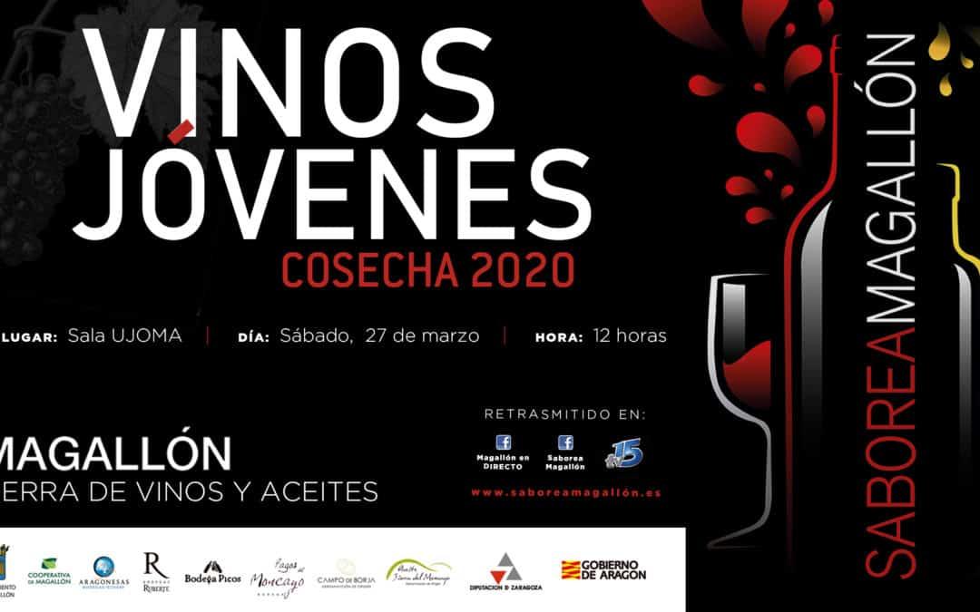 'Saborea Magallón' inaugura su calendario de actividades de promoción con la 'Cata de vinos jóvenes de la añada 2020'